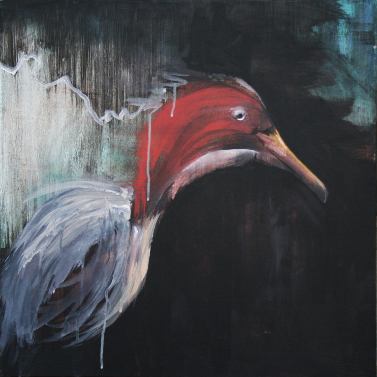 Bird in Flight_brandon roth_24x24_2011