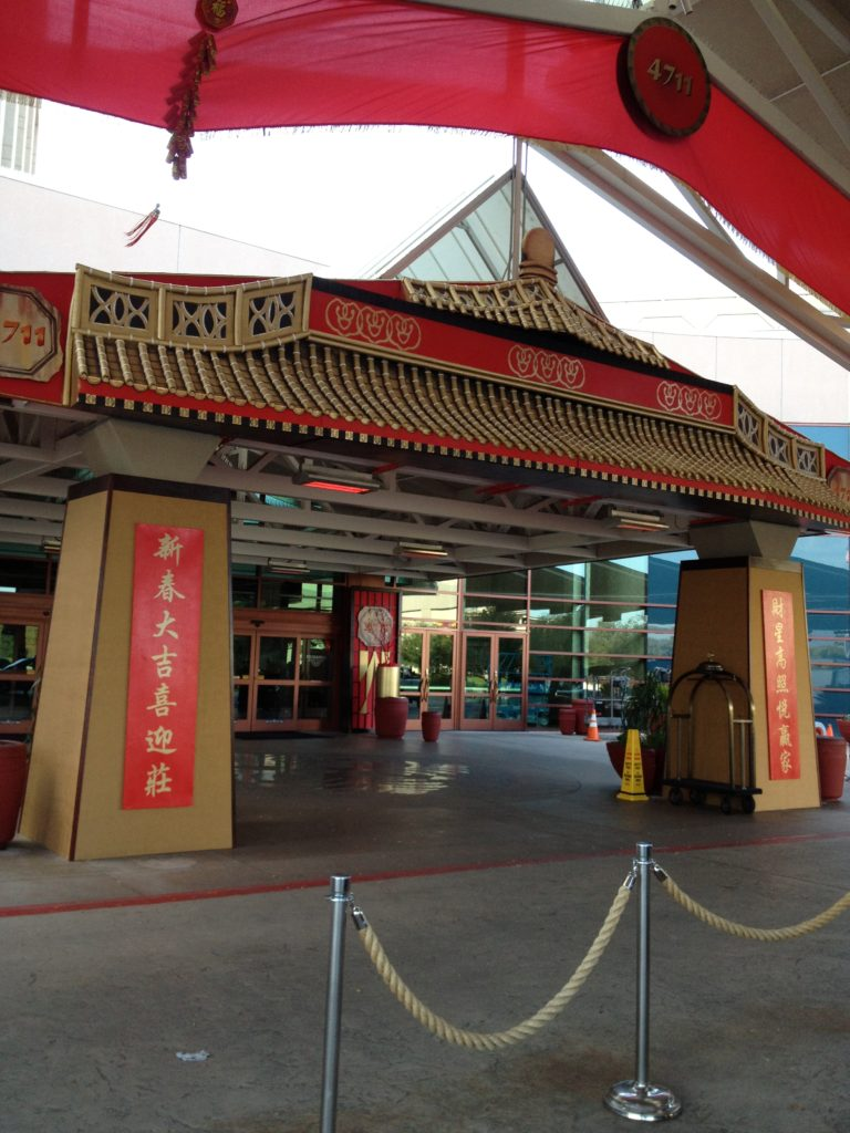 Artist Brandon Roth builds themed decor for casinos Chinese New Years Event