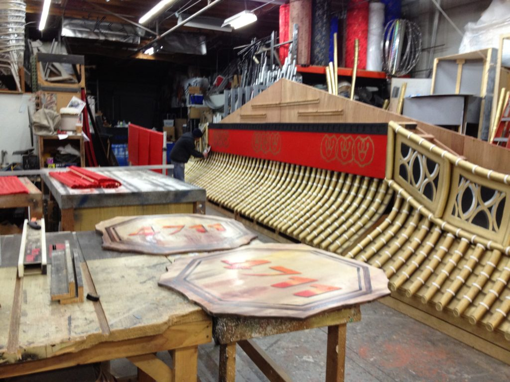 artist brandon roth builds giant prop for chinese new year